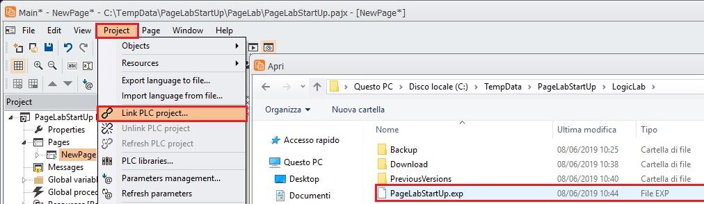 PageLab_Link_PLC_project