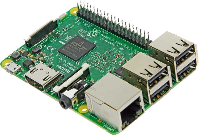 Foto modulo Raspberry Pi3