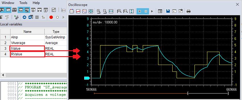 Screenshot ST_Average