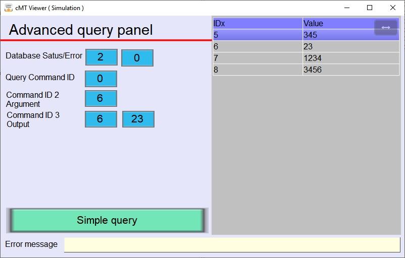 Screenshot programma Demo_SQLQuery